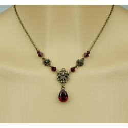 Collier ALEXANDRINE rouge