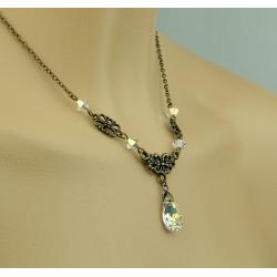 Collier FLORA crystal AB