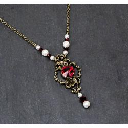 Collier JULIETTE rouge