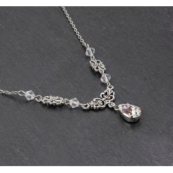 Collier VICTORINE crystal