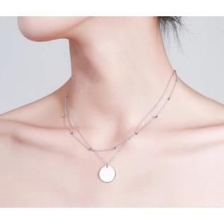 Boucles d'oreilles BORA BORA, rondelles cobalt blue et opaque white, breloques ananas