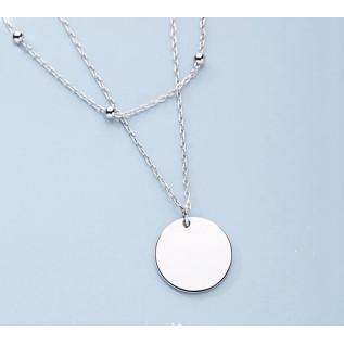Boucles d'oreilles FIDJI, petites pépites de verre de mer aqua