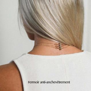 Boucles d'oreilles HONOLULU, pastilles en verre de mer turquoise bay et breloques ancres marines