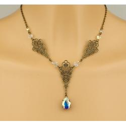 Collier FAUSTINE crystal AB