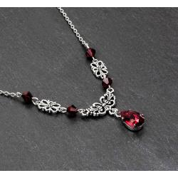 Collier VICTORINE rouge