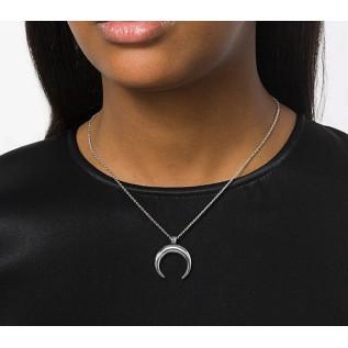 Boucles d'oreilles acier inoxydable et email orange, connecteurs ronds, gouttes