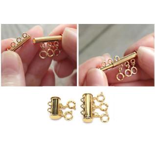 Collier BAHAMAS, pépite en verre de mer pink blossom et pendentif étoile de mer